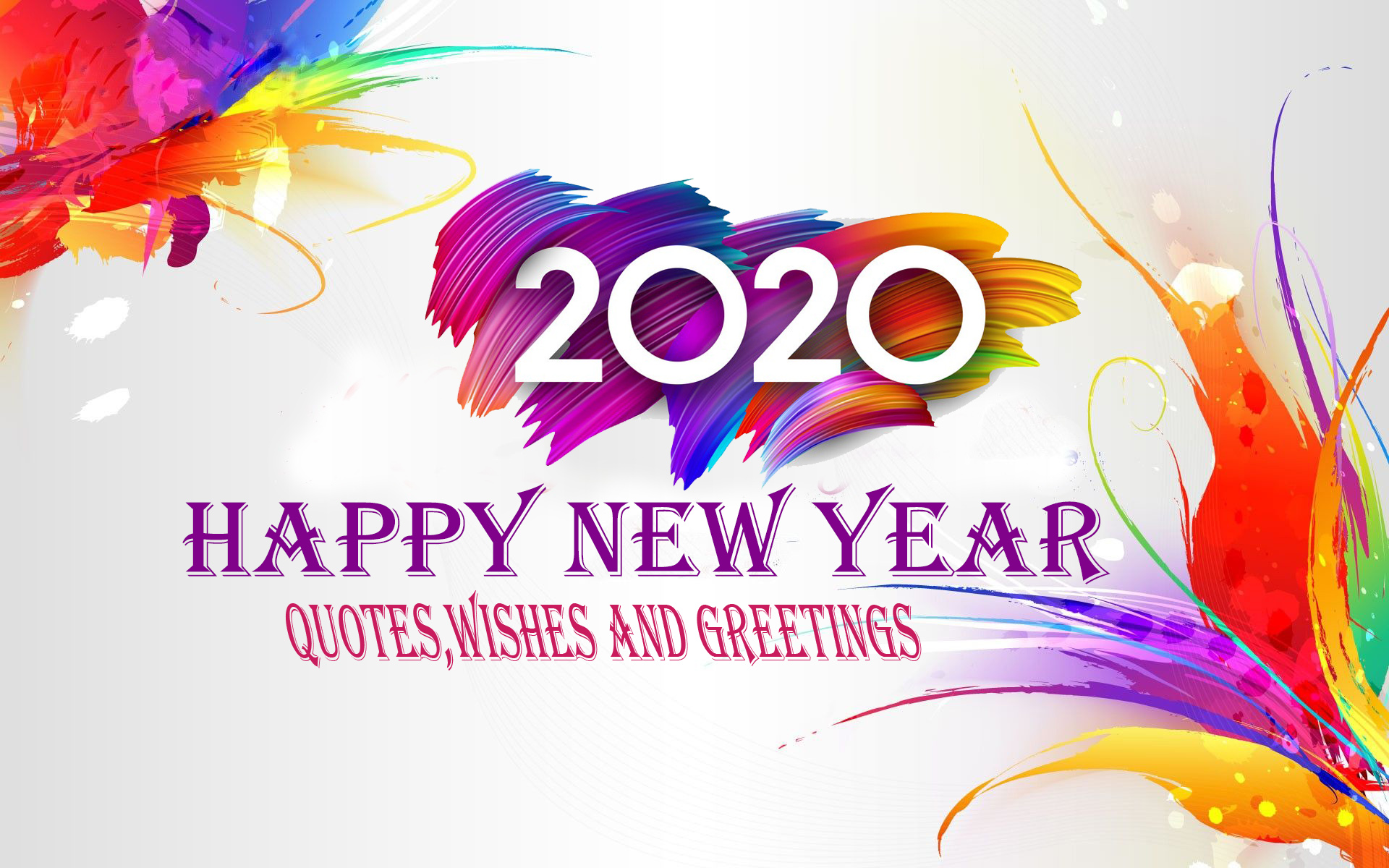 New Year Wishes 2020.Happy New Year 2020 Quotes Images Wishes And Greetings