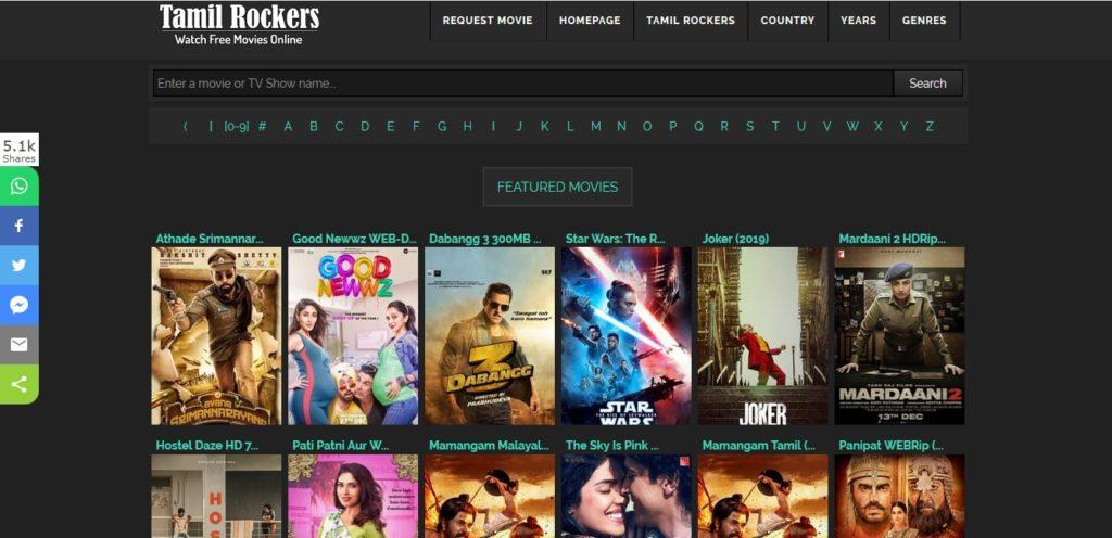 Tamil rockers 2020 movie download